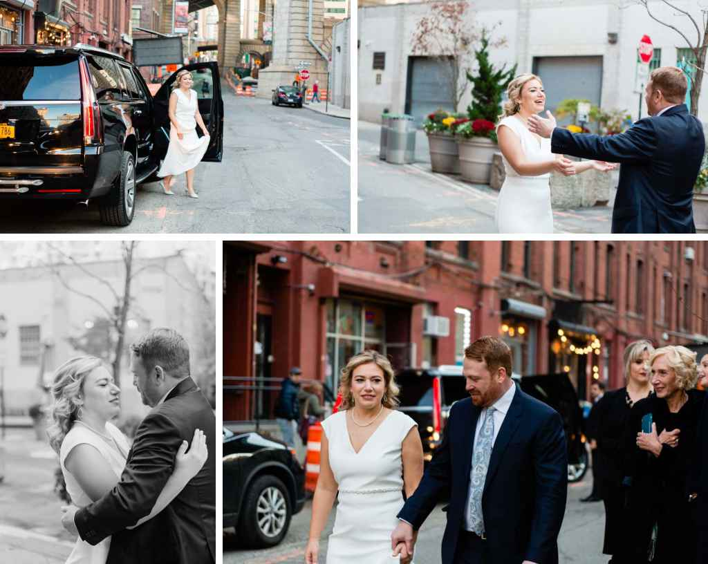 brooklyn wedding photographer first look