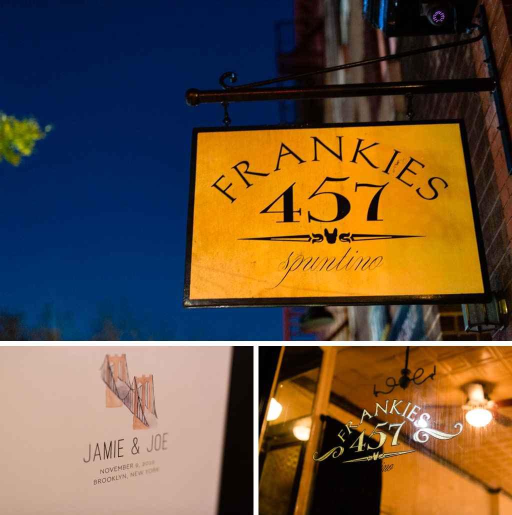 brooklyn restaurant wedding at frankies 457