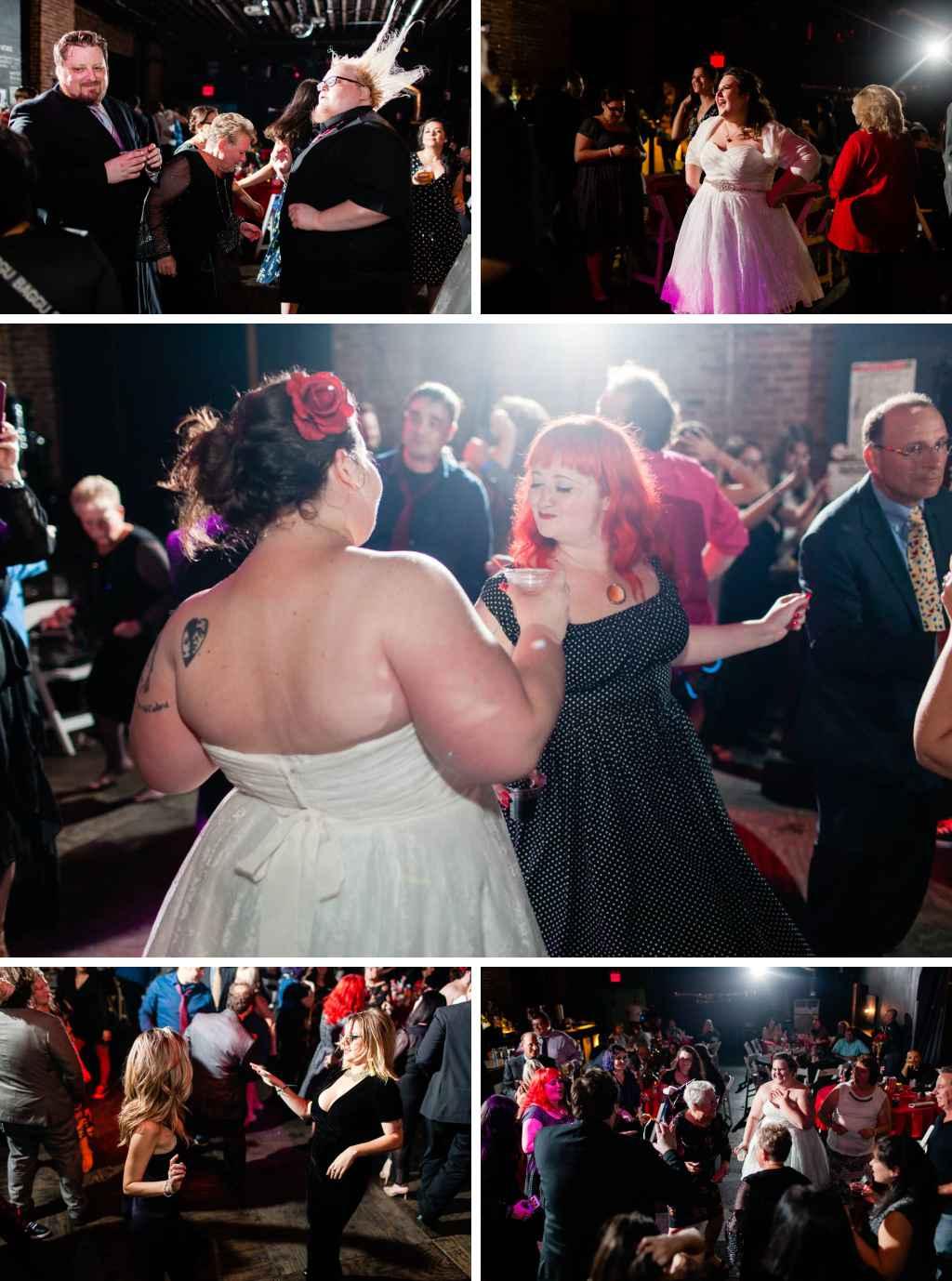 wedding reception brooklyn dancing