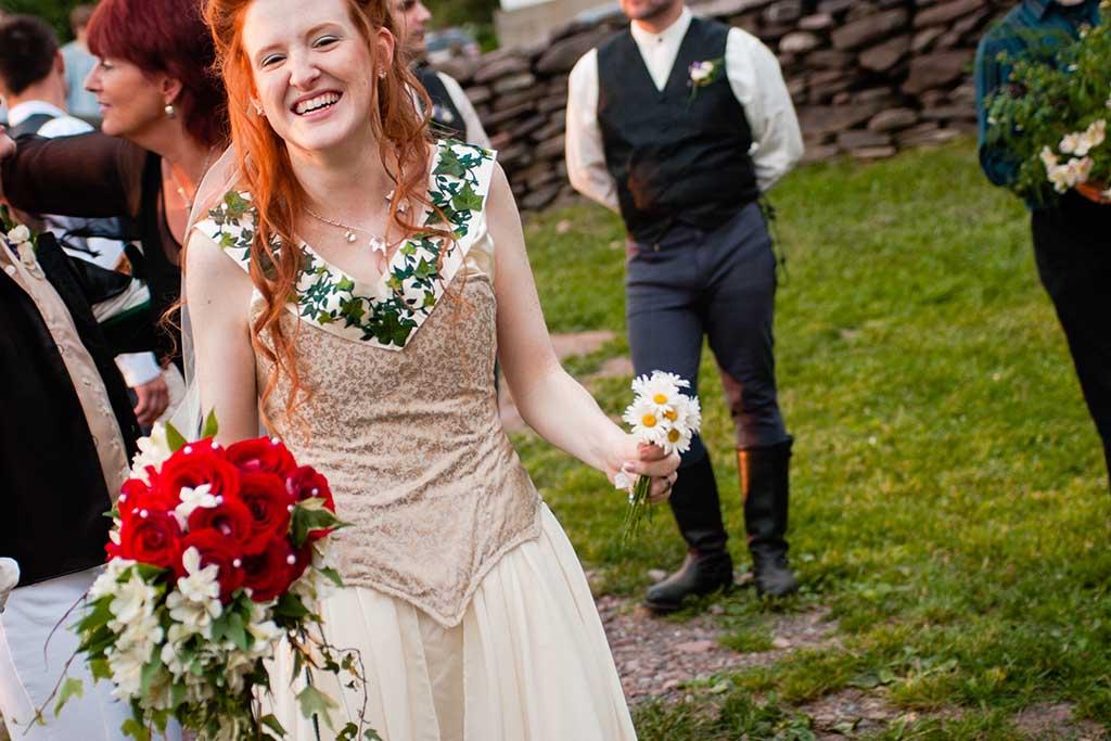 renaissance festival faire themed wedding in the hudson valley