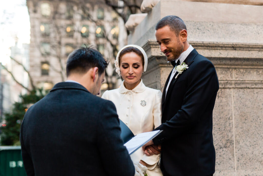 nyc library wedding photographer