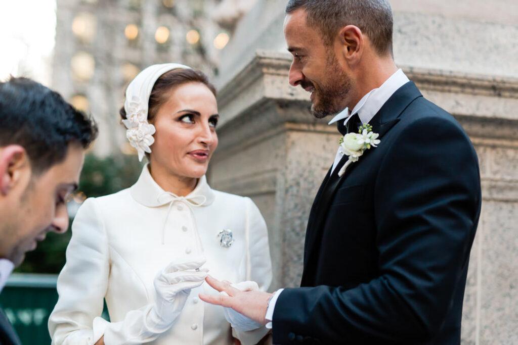new york city public library elopement wedding photographer
