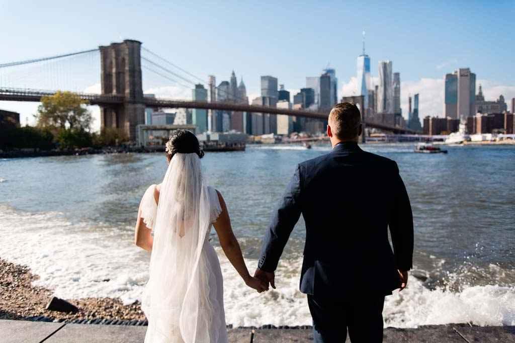 brooklyn bridge DUMBO wedding photos photographer
