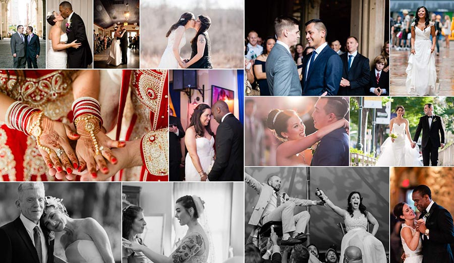 diverse non-traditional interfaith interracial lgbtq+ wedding photos wedding photographer new york city new jersey