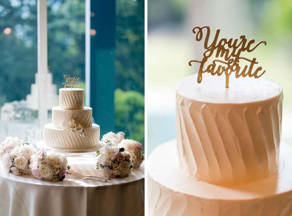 wedding cake detail photos