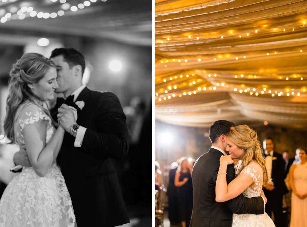 bride and groom first dance photos beautiful tappan hill mansion wedding by casey fatchett photography