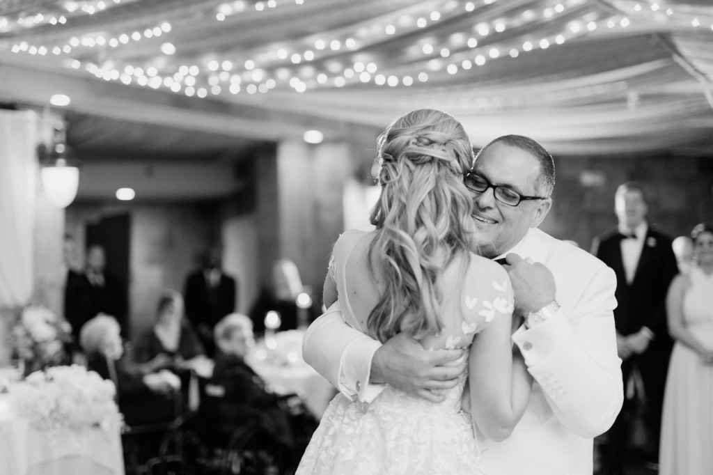 father daughter dance tappan hill mansion wedding photos