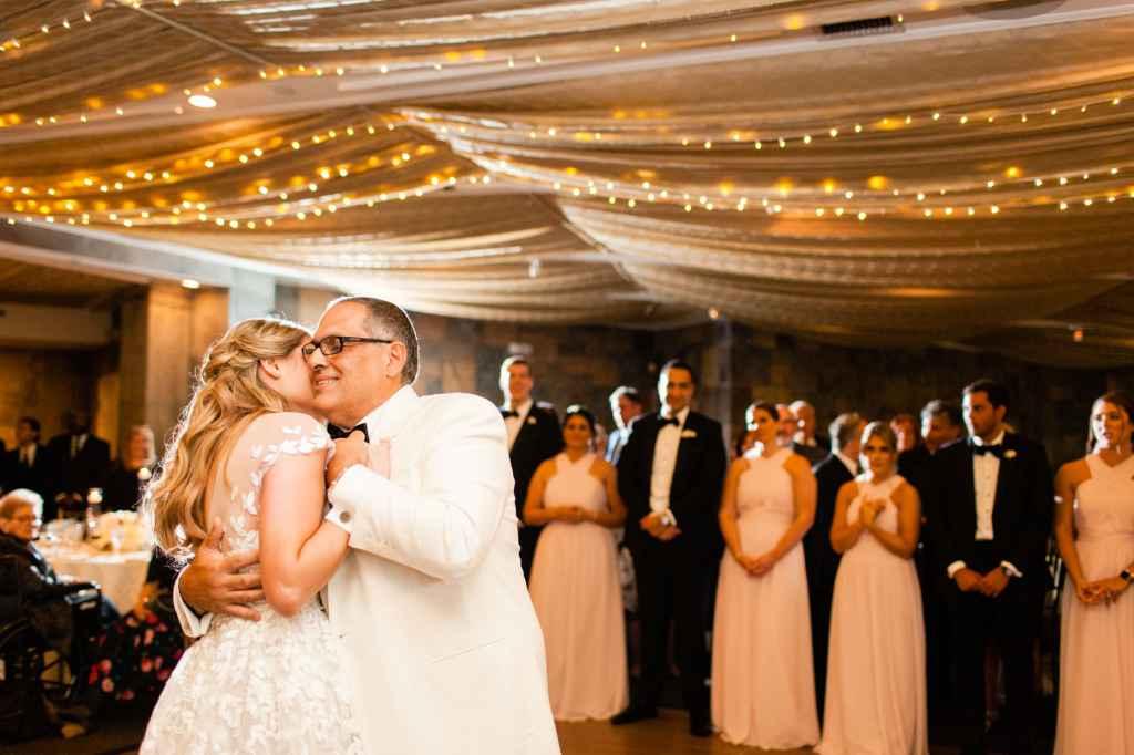 award winning father daughter dance tappan hill mansion wedding photos