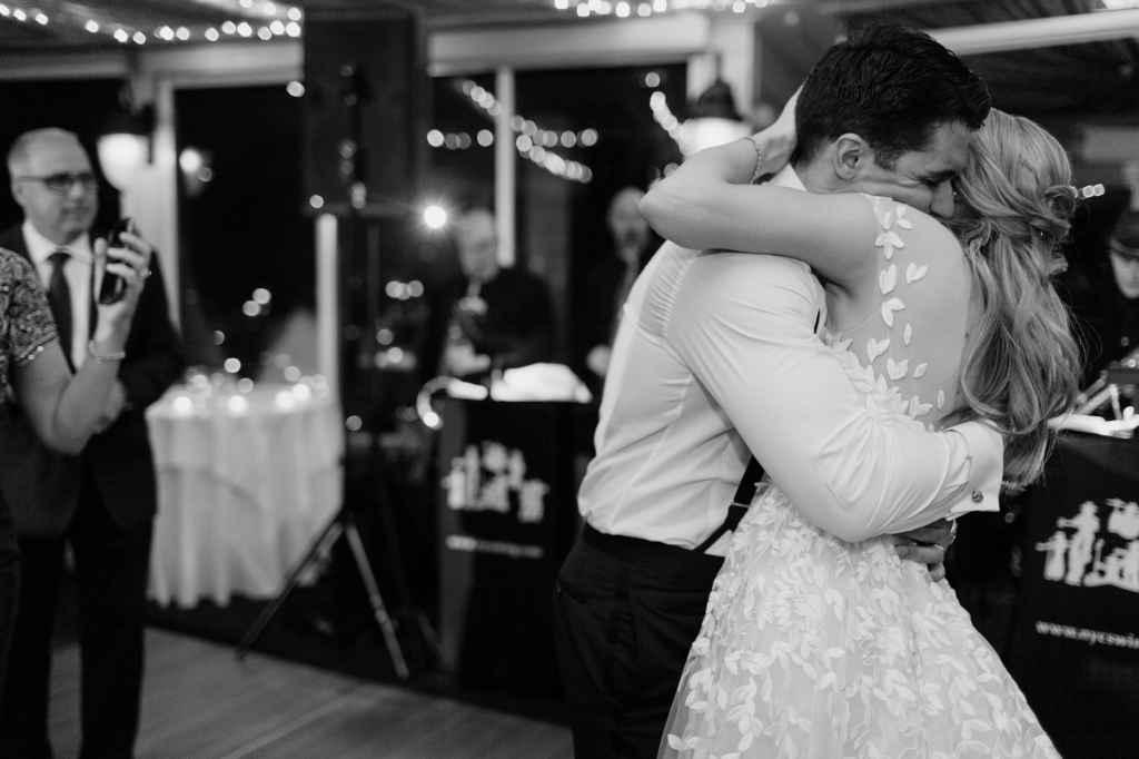 tappan hill mansion wedding reception photos by hudson valley wedding photographer casey fatchett