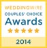 WeddingWire Couples Choice Award 2014 Winner