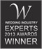 Wedding Industry Experts Award 2013 - Best Wedding Photographer New York City - Top 10 United States Wedding Photographer